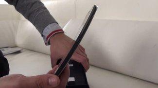 LG G Flex: Bogen-Smartphone im Hands-On-Video