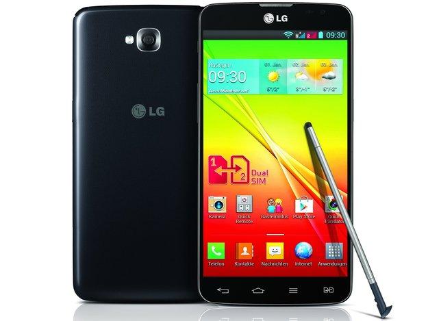 LG G Pro Lite Dual: Stylus-Phablet mit Dual SIM für Deutschland angekündigt