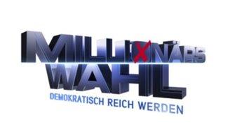 Millionärswahl im Livestream bei Sat.1 und ProSieben: Wählt den Millionär