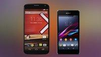 Sony Xperia Z1 Compact & Motorola Moto X: Smartphone-Neuheiten ab sofort bei Amazon vorbestellbar