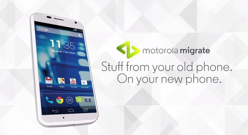 Motorola Migrieren: Datentransfer-App hilft jetzt auch iPhone-Nutzern beim Wechsel auf Moto G &amp&#x3B; Co.