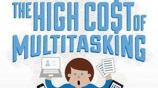 Multitasking ist schlecht für euch! (Infografik)