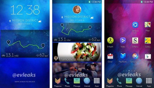 Samsung arbeitet an neuer Smartphone-Oberfläche (Leak)