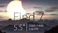 Oppo Find 7: High End-Bolide mit WQHD-Display wird am 19. März vorgestellt
