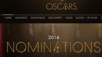 Oscars 2014: Google kennt die Gewinner bereits jetzt