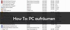 PC aufräumen: Mehr Power durch Optimierung
