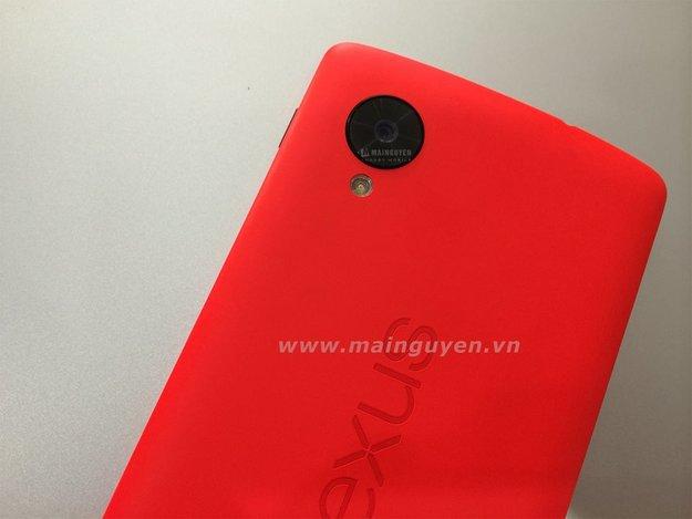 Nexus 5: Mögliche rote Variante gesichtet