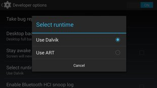 ART: Alternative Android-Runtime im Akku-Benchmark