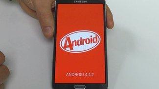 Samsung Galaxy S4 &amp&#x3B; Note 3: Neue Android 4.4 KitKat-basierte Firmwares zum Download