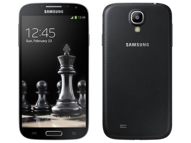 """Samung Galaxy S4 und S4 mini: """"Black Edition"""" in Note 3-Optik offiziell, in Deutschland vorbestellbar"""