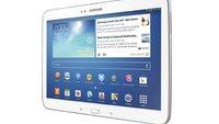 Samsung Galaxy Tab 10.1 Pro: Exynos 5 Octa-Core und 2K-Display durch Benchmark bestätigt