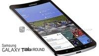 Samsung Galaxy Tab Round: So könnte ein gebogenes Tablet aussehen