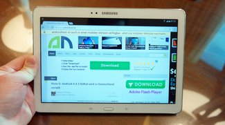 Samsung Galaxy TabPRO 10.1: Das Traditions-Tablet im Hands-On-Video [CES 2014]