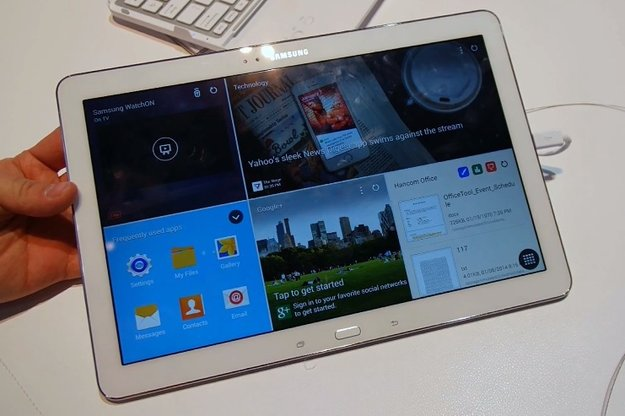Samsung Galaxy TabPro 12.2: Riesen-Tablet im Hands-On-Video [CES 2014]