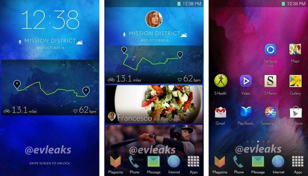 Samsung Galaxy S5: Mögliche Screenshots eines neuen TouchWiz-UI geleakt, sehen elegant aus [Gerücht]