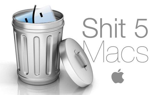 Faule Äpfel: Die 5 schlechtesten Macs aller Zeiten