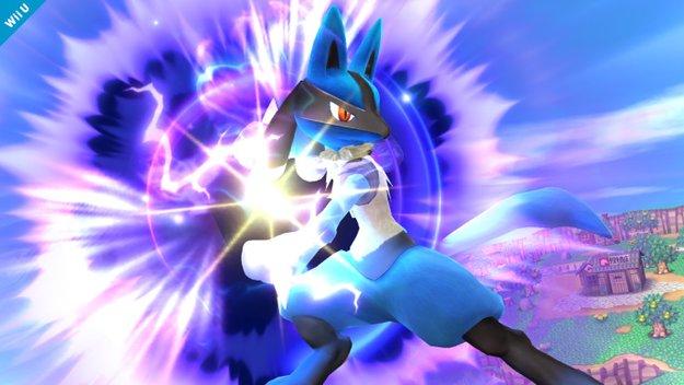 Super Smash Bros. 4: Pokémon Lucario reiht sich in die Kämpfer-Riege ein