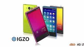 Sharp Aquos mini SHL24: Kompaktes 4,5 Zoll-Full HD-Smartphone mit Snapdragon 800-SoC vorgestellt