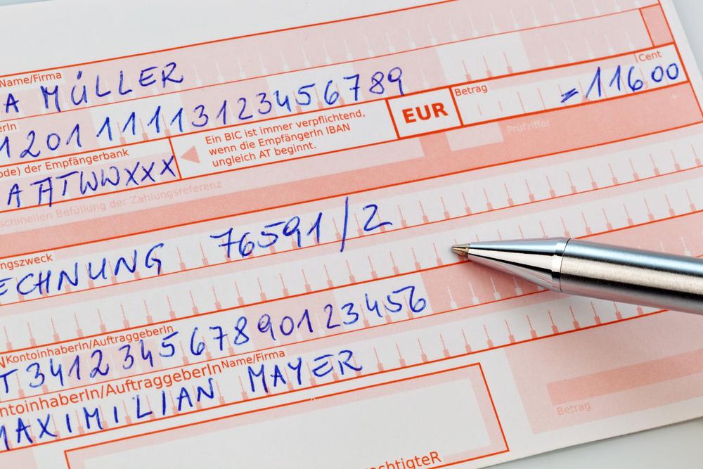 Welche Bankdaten Braucht Man FГјr Eine Гјberweisung