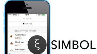 Sonderzeichen auf iPhone und iPad: App Simbol erleichtert die Eingabe