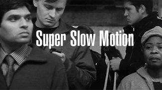 Super Slow-Motion am Bahnhof!
