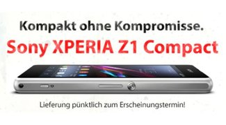 Sony Xperia Z1 Compact gratis zu Vodafone Red XS (29,99 €/Monat) bei getmobile