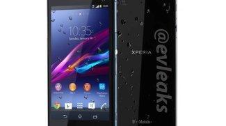 Sony Xperia Z1S: Mini-Bolide kurz vor der morgigen Präsentation geleakt [CES 2014]