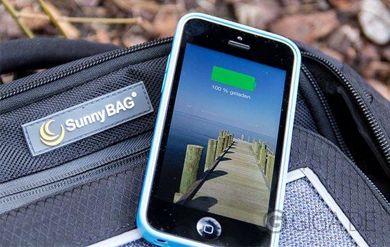 SunnyBAG Solar-Rucksack: Sonnenwende in der Akku-Krise