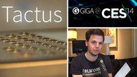 CES 2014: Tactus zeigt Haptisches Feedback fürs iPad-Display