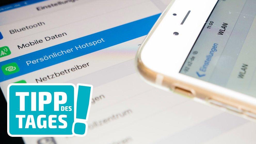 Persönlicher Hotspot mit iPhone & iPad: Datentarife