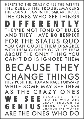 Poster: Think Different