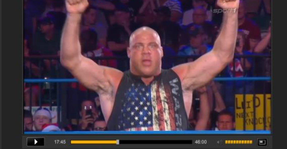 wrestling live im tv