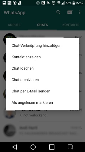 Chat Löschen Whatsapp Iphone