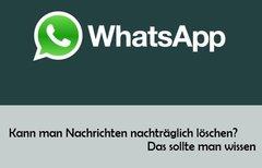 Versendete WhatsApp-Nachricht...