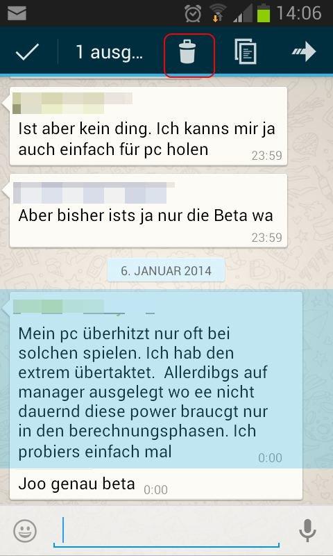 Versendete Whatsapp Nachricht Nachträglich Löschen So Gehts Giga