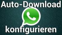 WhatsApp: Automatische Download-Einstellungen anpassen