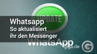 WhatsApp aktualisieren: So funktioniert es! (APK-Download)