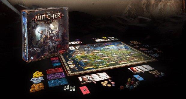 The Witcher Adventure Game: Brettspiel mit Hexer Geralt, App für iOS und Android