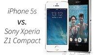 iPhone 5s vs. Sony Xperia Z1 Compact: Ein technischer Vergleich