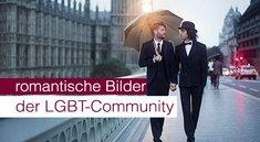 Romantische Bilder der Gay (LGBT) - Community!