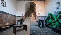 Lost Places und Vandalismus treffen aufeinander