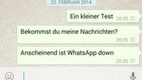 WhatsApp und Telegram down: Messenger Dienste aktuell nicht verfügbar