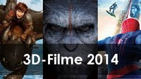 3D-Filme 2014 - Die 3D-Highlights des Jahres