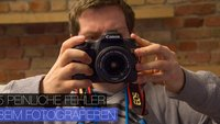 5 peinliche Fehler beim Fotografieren