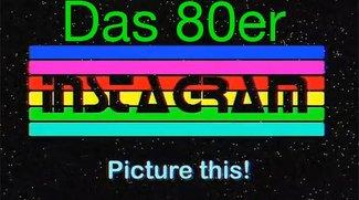 Was wäre, wenn Instagram in den 80er Jahren erfunden worden wäre?