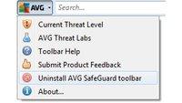 AVG SafeGuard Toolbar entfernen – so geht's