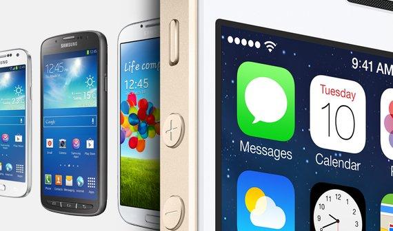 Mehr verkaufte iPhones: Apple in Nordamerika wieder vor Samsung