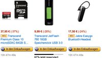 Deals des Tages: 64GB Micro-SD, Galaxy S4 Lederhülle und Bluetooth Headset