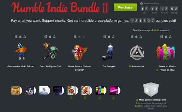Humble Indie Bundle 11: Giana Sisters, Antichamber und mehr im Angebot *Update*