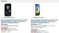 Samsung Galaxy S4: 50€ bei Amazon (Student) sparen